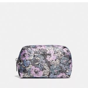 BRAND NEW COACH FLORAL COSMETIC CASE. LIMITED